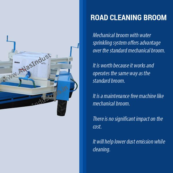 Buy easy to use #RoadCleaning equipment from Atlas.  #ConstructionEquipment; #ConstructionMachinery