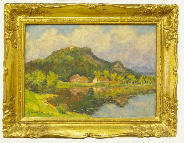 OTA BUBENÍČEK (1871-1962)  Near Mladá Vožice