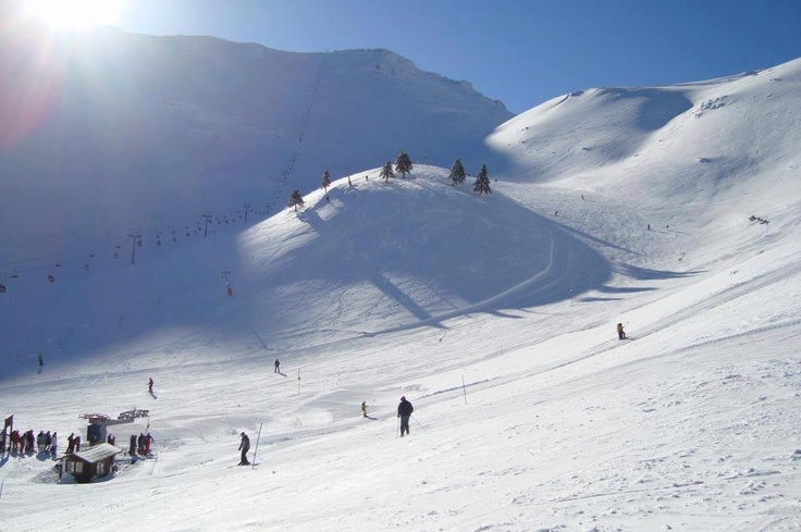 Need any help visualizing the beauties of Greece? Well, our fans' photos at your disposal!!! Enjoy your evening and keep sharing the beauties of Greece on our wall!    Kalavryta Ski Center, Achaia, Peloponnese #outdoorsgr