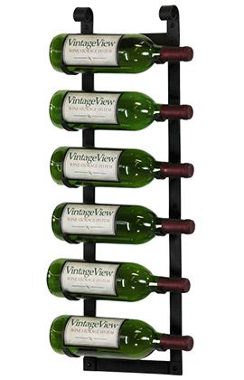 vintageview le rustique 6 bottle wine rack vintage view metal wine racks