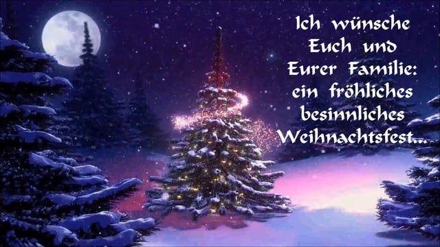 Liebe Grüße zu Weihnachten!