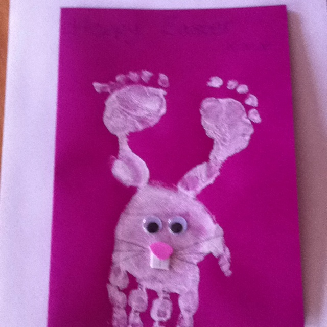 Easter cards for the babies