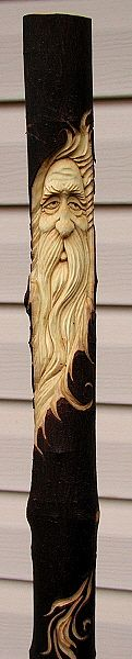 Check out http://shawnscarvings.com!  Shawn Cipa, Woodcarver.  Custom walking sticks and canes, Folk carvings, and other custom woodcarved artwork.  www.shawnscarvings.com