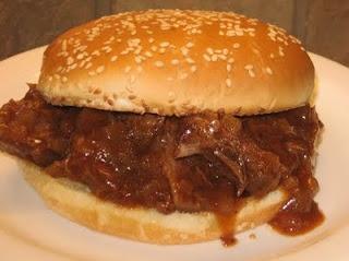 Upscale Sloppy Joes: Crock Pot, Sloppy Joes, Roasted Sloppy, Beef Recipe, Chuck Roasted, Coleen Recipe, Slow Cooker, Crockpot Recipe, Sandwiches Recipe