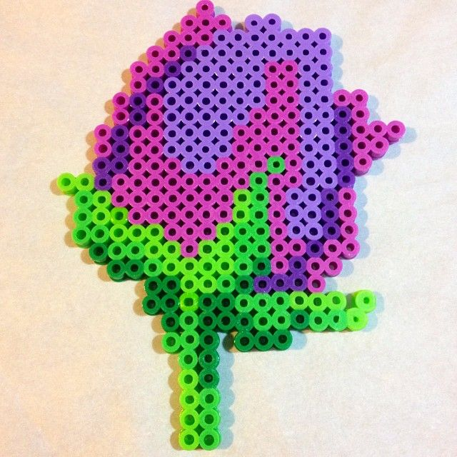 top 42 ideas about flower patterns on perler