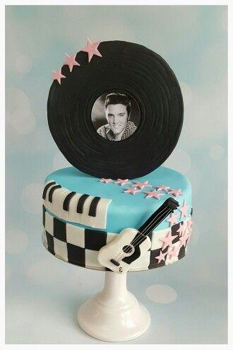 Elvis presley cake / taart