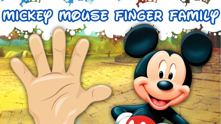 20 Disney Finger Family Song   LilAbby.Com Nursery Rhymes & Songs For Ch...