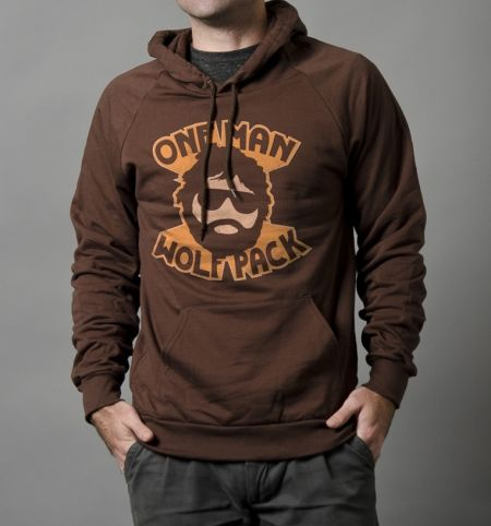 One Man Wolf Pack - BustedTees - Image 9