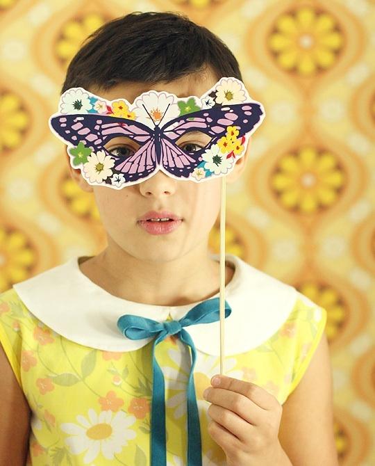 DIY Printable Masks - The Cutest!
