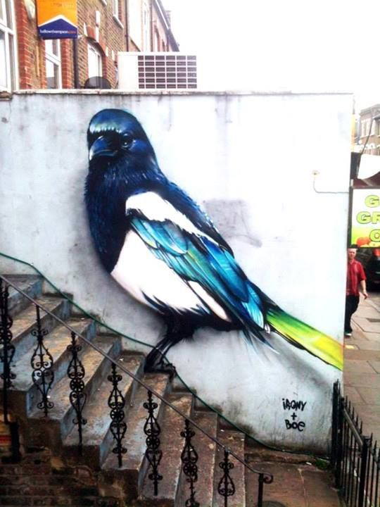 Irony x Boe - London   #streetart