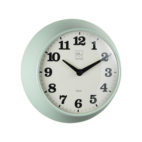 OROLOGIO DA MURO M556 - orologio da muro vintage in metallo con movimento continuo e silenzioso - metal wall clock with sweep movement #mascagni #mascagnicasa