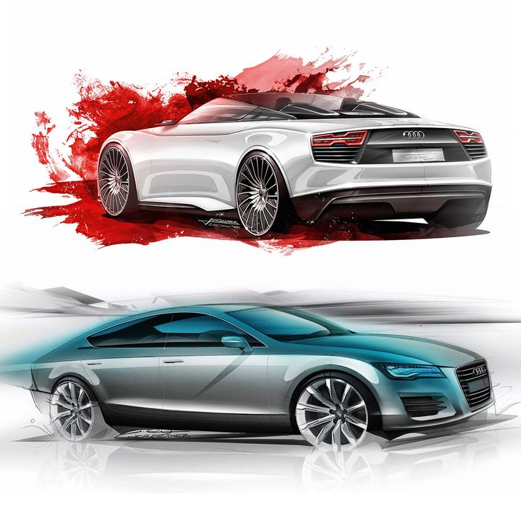 Audi Sketches - from the Audi Design Sketch Board http://www.carbodydesign.com/design-sketch-board/audi/
