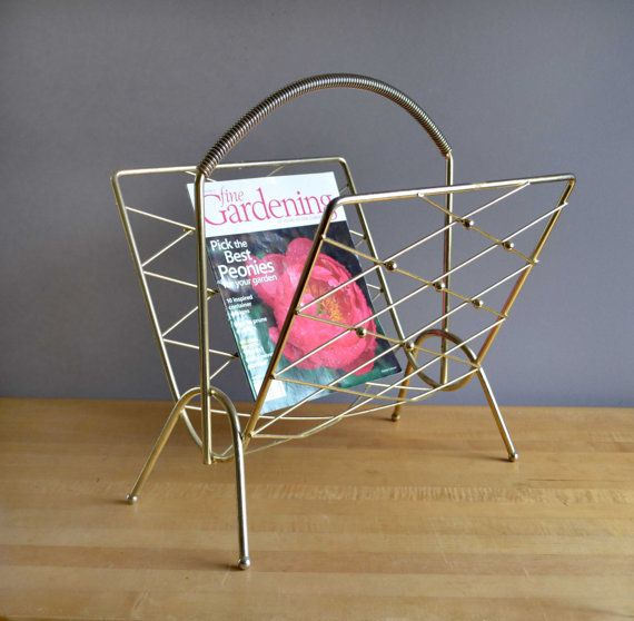 yes to midcentury magazine racks