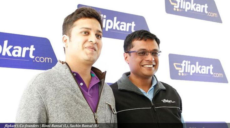 Sachin Bansal & Binny Bansal are Indian Software Engineers & Internet Entrepreneur, Co-founders of India's leading e-commerce platform Flipkart.  #flipkart #ecommerce #onlineshopping #internet