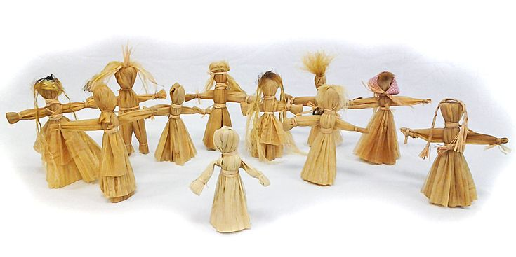 Corn Husk Dolls - Google Search