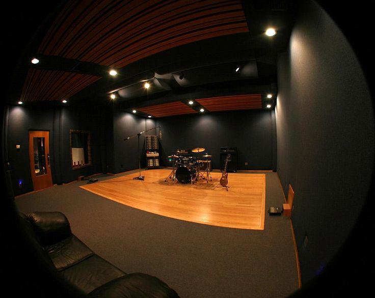 Small Dark Live Room Music Studio Room Recording Studio Home Studio Layout