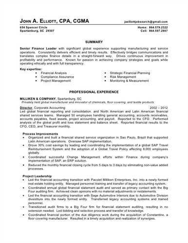 Big 4 Accounting Resume Examples Pinterest Resume examples and