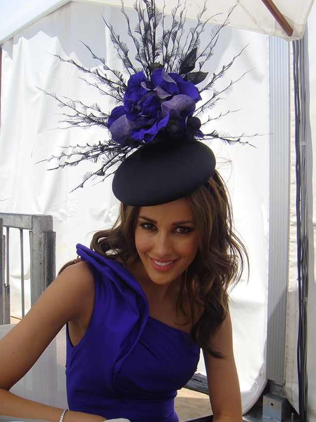 Ensure your hair is balanced with the size of your fascinator... Think hair slicked back with a smaller fascinator, loosely tied for a medium size fascinator or down for a larger fascinator. www.stylestaples.com.au