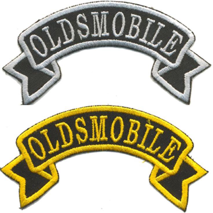 Oldsmobile Tygmärke storleken är 10,5x6cm