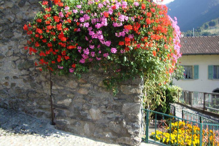 Un precioso rincòn de Vellano, en Ticino, Suiza, en alta montaña.