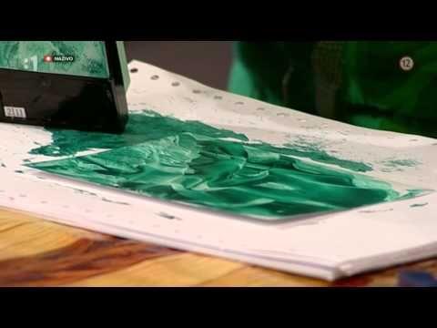 Ako sa maľuje voskom (enkaustika) - YouTube