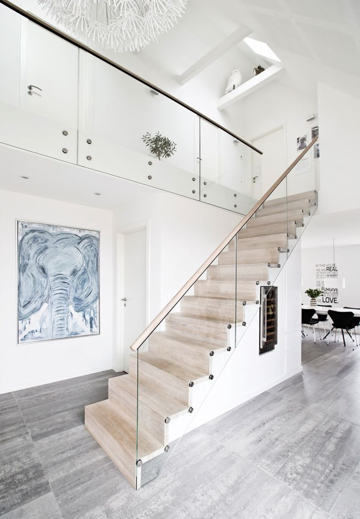 best 25 glass stair railing ideas on pinterest. Black Bedroom Furniture Sets. Home Design Ideas