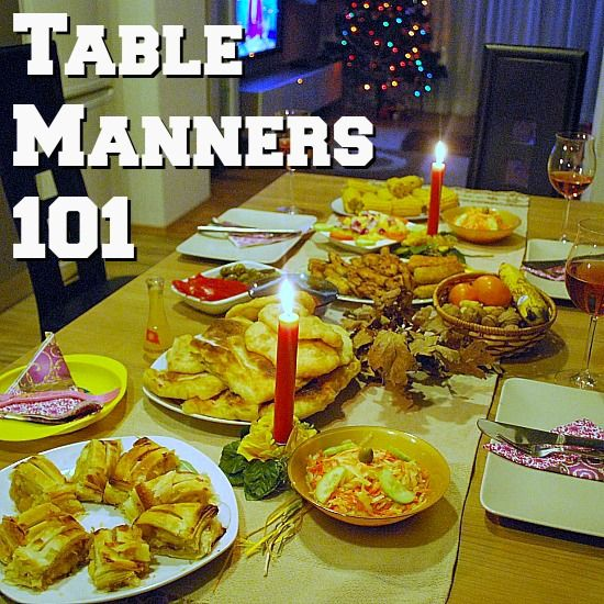 What Are The 10 Table Manners Everyone Should Know