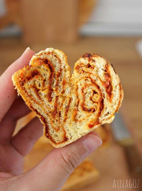 AynaGöz.: Salçalı Ekmek/ Çemenli Ekmek/ Çemenli Çörek