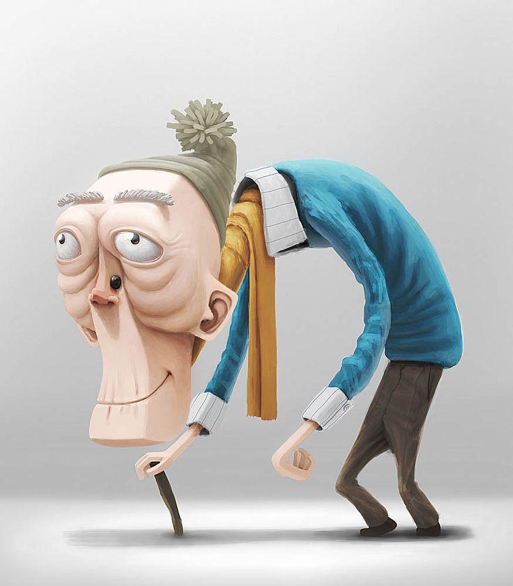 Character Design Old Man : Old man character design pesquisa google concept