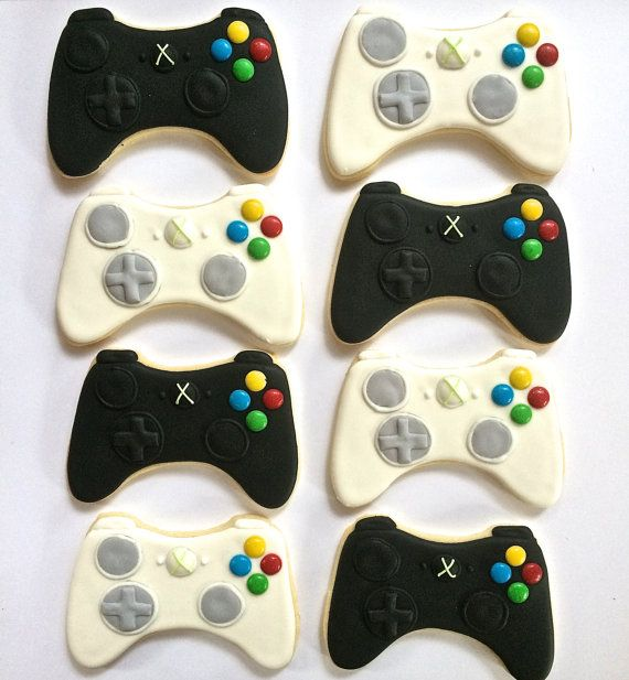 XBOX Remote Sugar Cookies by KarlasHouseofCookies on Etsy