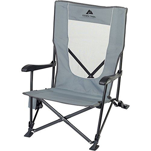 Buy Portable Loveseat Folding Camp Chairs Low XL Chair Camping Beach Lake  Fishing At Online Store