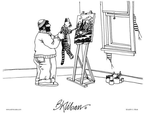 706 Best Kliban Cats Images On Pinterest