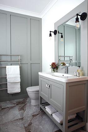 A classic bathroom - designed by Rochelle Denis from Kapiti Architecture Ltd @ADNZ @architecture @bathroom