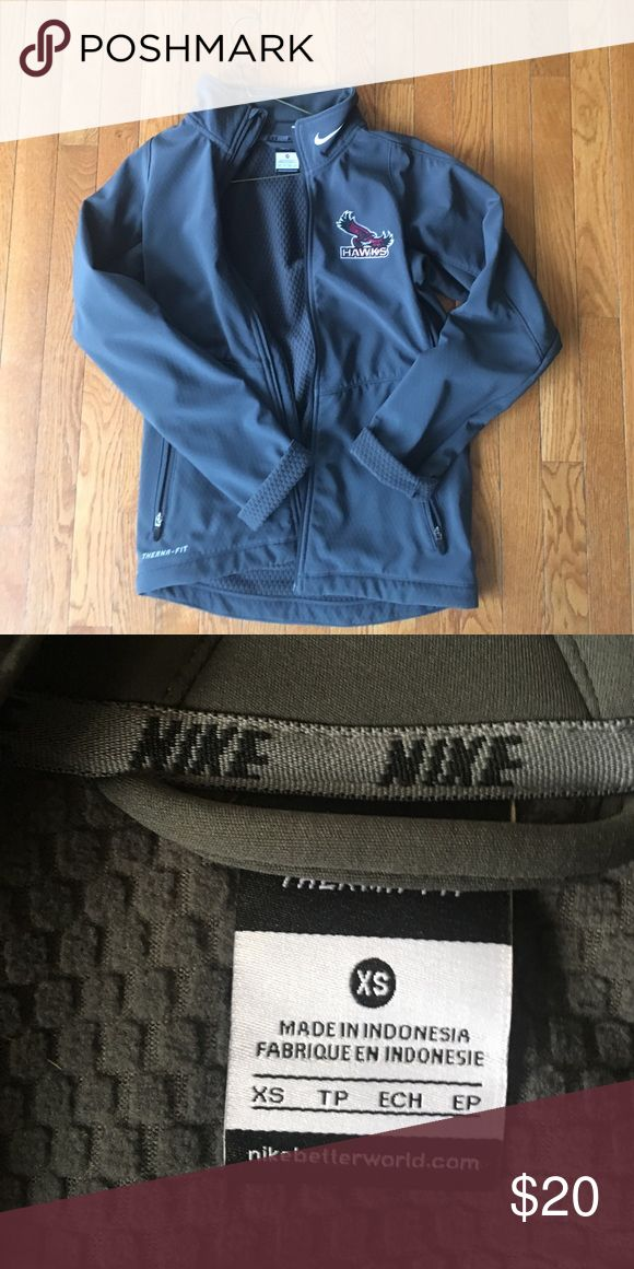 Saint Josephs University Nike Jacket Runs big!! Ordered an XS but it's more like a M -- listing it as M in hopes it finds a good home! Nike Jackets & Coats