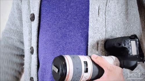 HACKxTACK – Para que nunca pierdas la tapa del objetivo de tu cámara