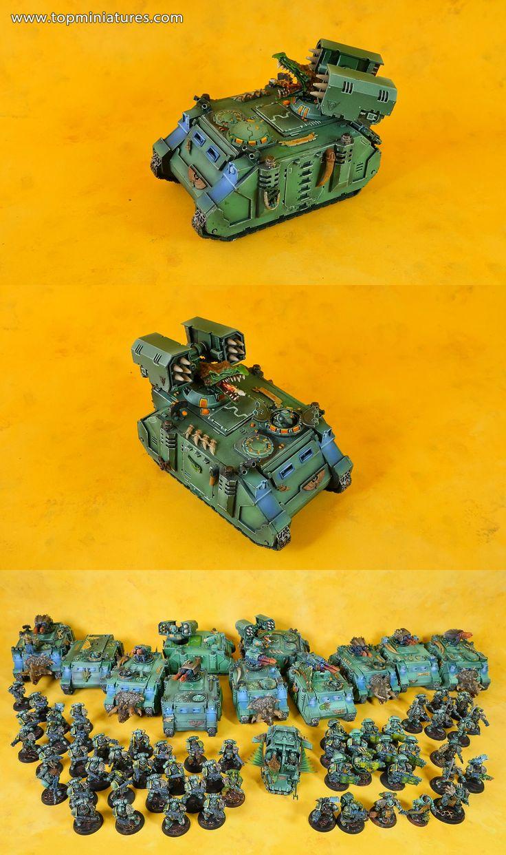 Warhammer 40k salamander space marines whirlwind