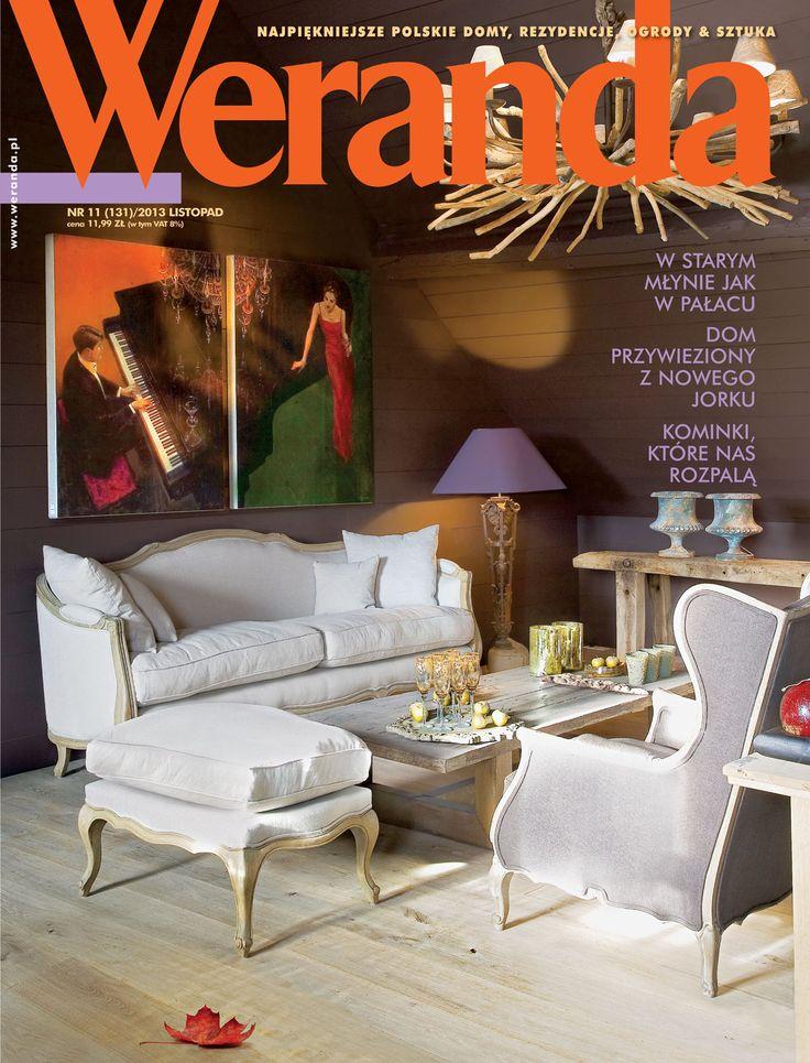 Okładka magazynu Weranda 11/2013 www.weranda.pl
