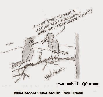 Mike Moore's Love and Laughter Lounge : New Cartoon: Two Love Birds