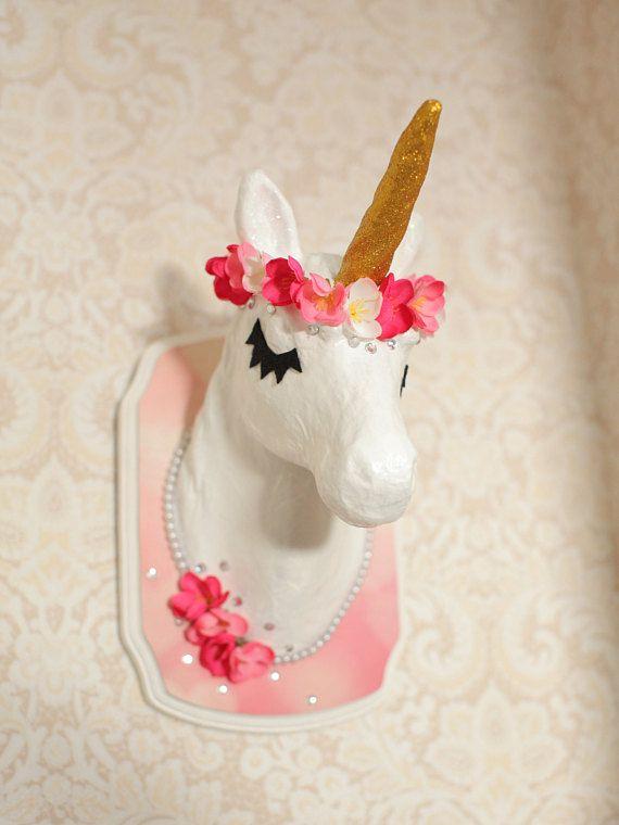 Paper Mache Unicorn Head Large – thanhvu.info | 760x570