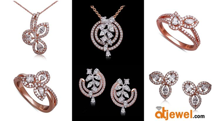 Latest Heart Throbbing Collection in Rose Gold...