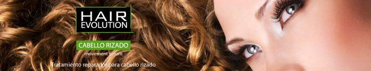HAIR EVOLUTION MOVEMENT SERUM.  CABELLO RIZADO.   Tratamiento que aporta hidratación y nutrición a los cabellos rizados, aporta movimiento y define el rizo. El cabello queda brillante y protegido. Regenera y elimina el frizz. Deja el cabello acondicionado y manejable.
