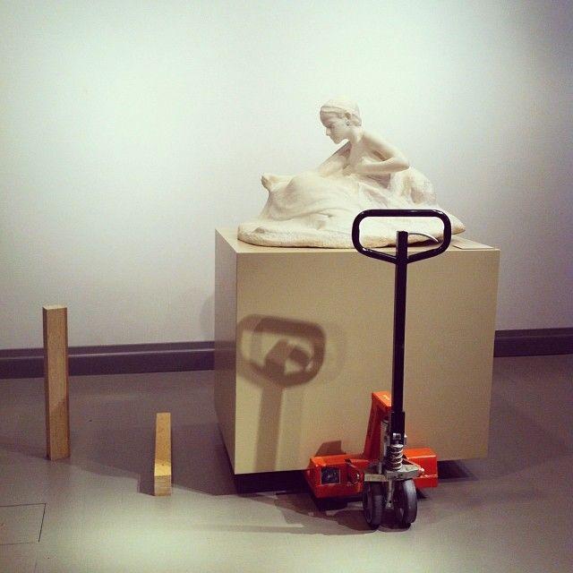 Exhibition under contruction