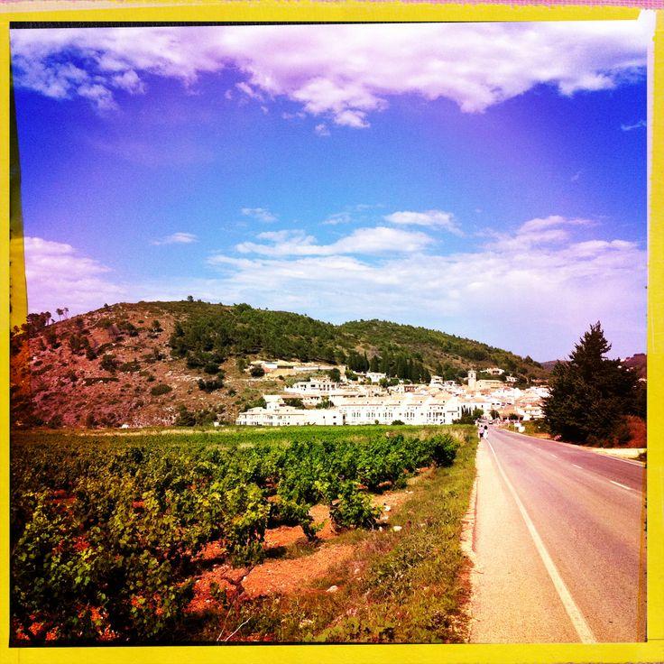Lliber village, Val de Pop,  Jalon Valley, Costa Blanca Spain