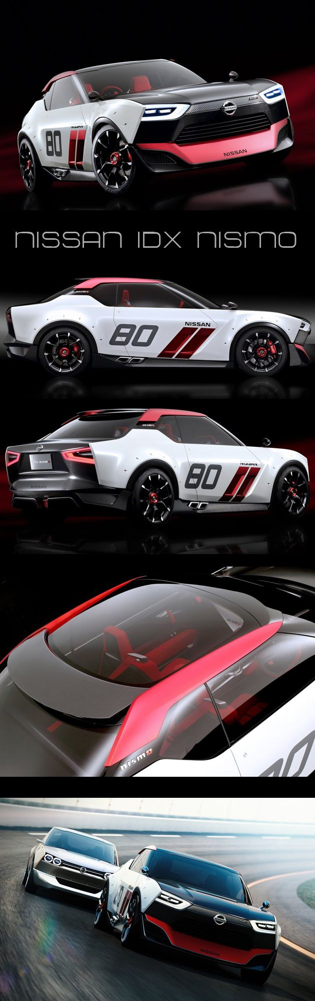 Taking design cues from some of our favorite imports from the 1960s and 1970s (namely the Datsun 510 and first generation Skyline GT-R), the Nissan IDx NISMO concept is drop dead gorgeous.  hiconsumption.com/2013/11/2015-nissan-gt-r-nismo/