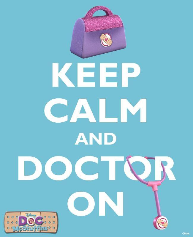 doc McStuffins silhouette clip art | The Doc McStuffins motto. #DisneyJunior