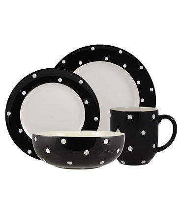 because you cannot go wrong with Spode or black and white polka dots.  sc 1 st  Pinterest & 94 best Black and white dinnerware images on Pinterest | Dish sets ...