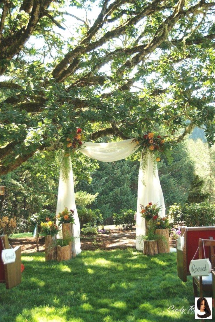 50 Lovely Yard Wedding Ceremony Decor Concepts To Get A Romantic Impression 屋外ウェディング アウトドアウェディング 結婚式 会場装花 アンティーク