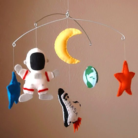 Space Mobile for Outer Space Nursery