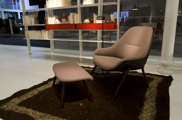 Alias @ ORGATEC 2016 New office collections gran kobi armchair by Patrick Norguet
