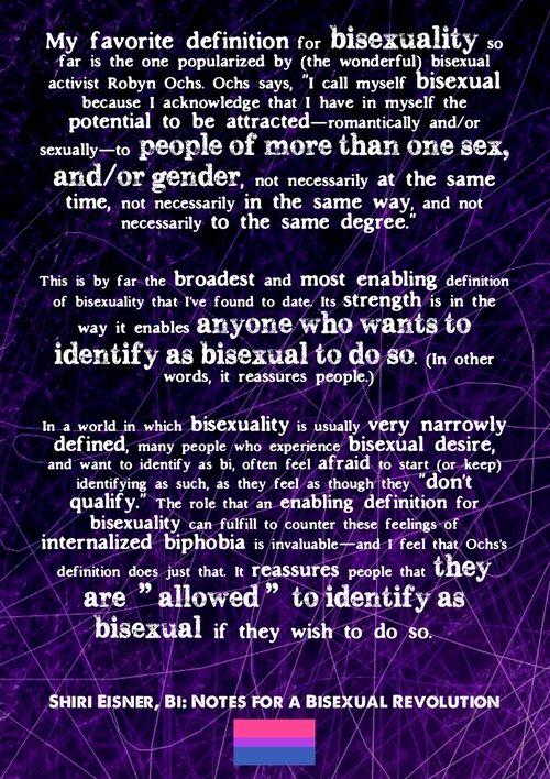 Bisexual definition Nude Photos 35